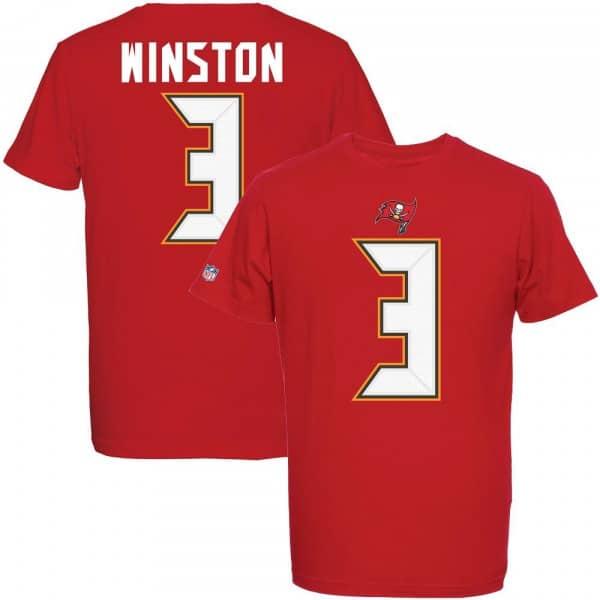 Jameis Winston #3 Tampa Bay Buccaneers Player NFL T-Shirt