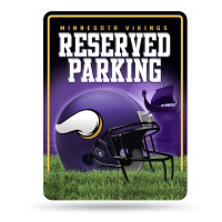 Minnesota Vikings Reserved Parking NFL Metallschild