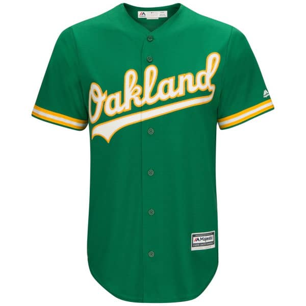 Oakland Athletics Cool Base MLB Trikot Alternate Road