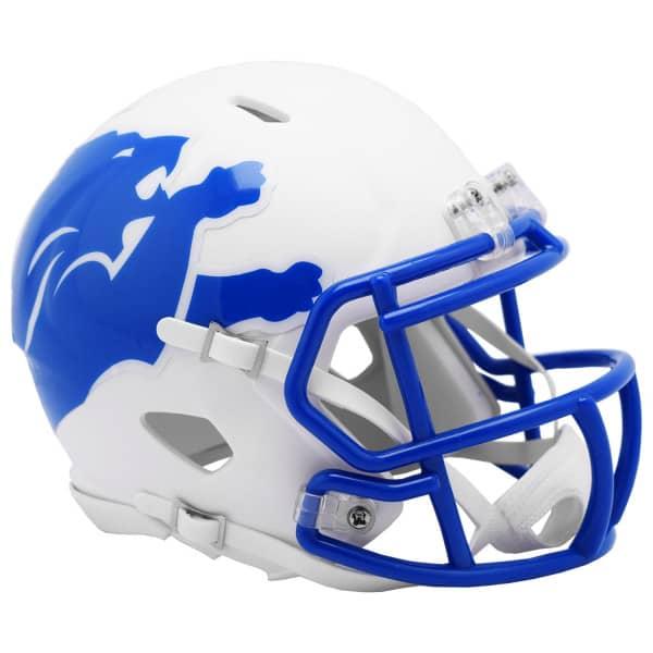 Detroit Lions AMP Alternate NFL Speed Mini Helm