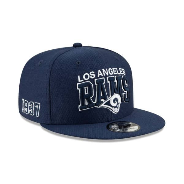 Los Angeles Rams 2019 NFL 1990s Sideline 9FIFTY Snapback Cap Home