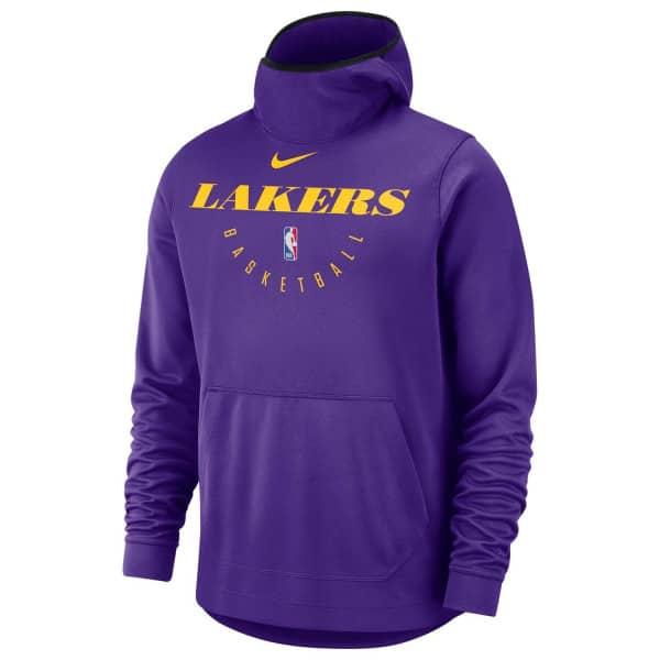 f94df353dad Nike Los Angeles Lakers Spotlight Performance NBA Hoodie Purple ...