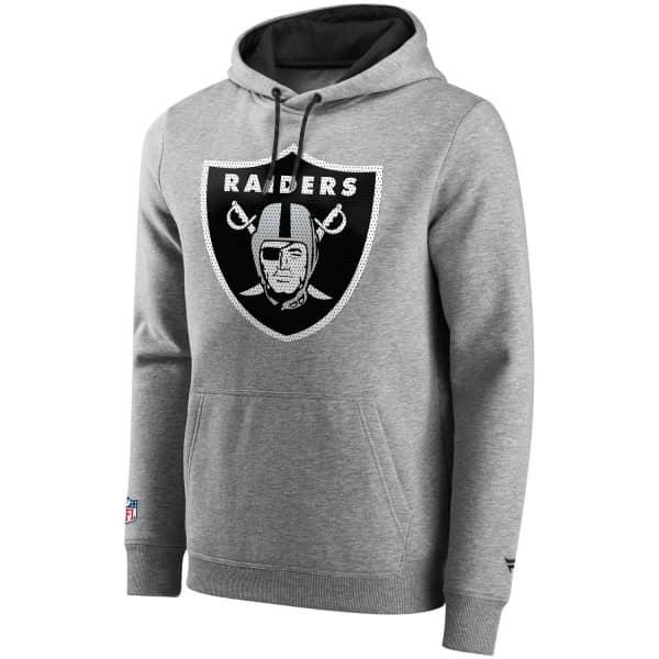 Las Vegas Raiders BTB Mesh Logo Fanatics Iconic NFL Hoodie