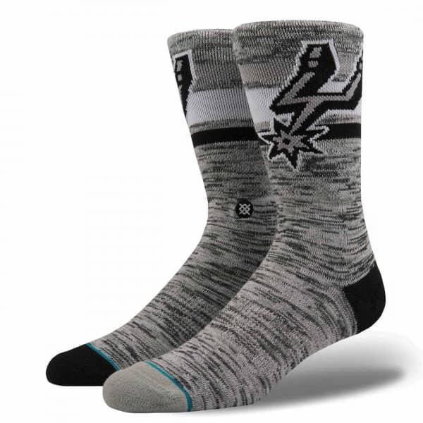 a52479a91bc San Antonio Spurs Melange NBA Socks