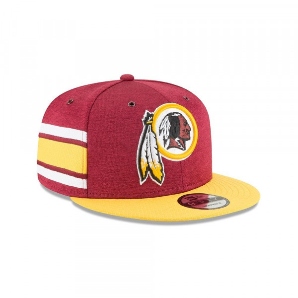 Washington Redskins 2018 NFL Sideline 9FIFTY Snapback Cap Home