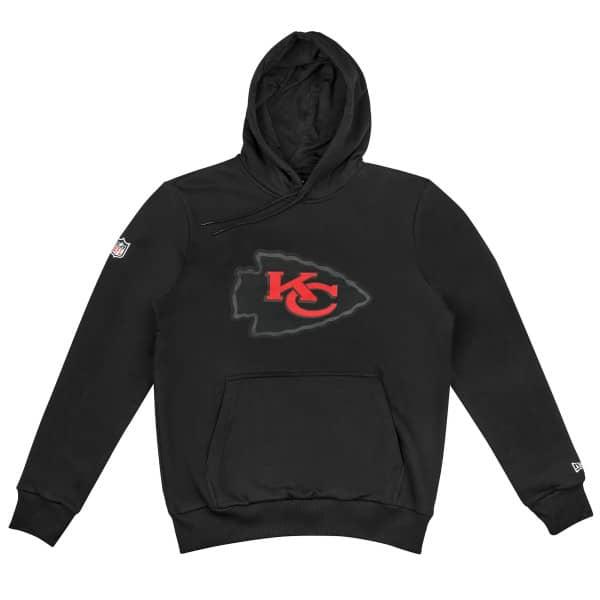 Kansas City Chiefs Elements 2.0 New Era NFL Hoodie Schwarz