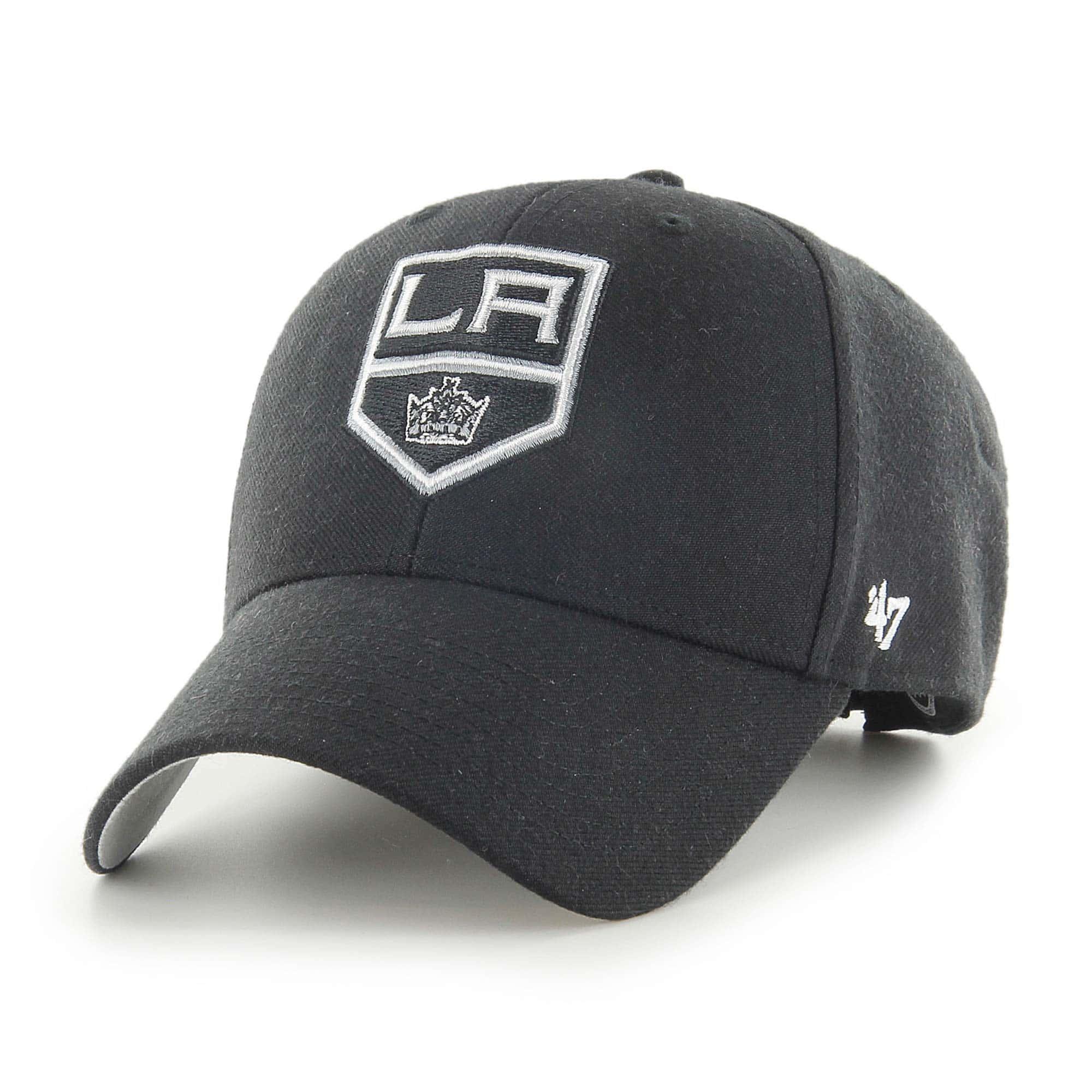 low priced 83524 47135  47 Brand Los Angeles Kings MVP Adjustable NHL Cap Black   TAASS.com Fan  Shop