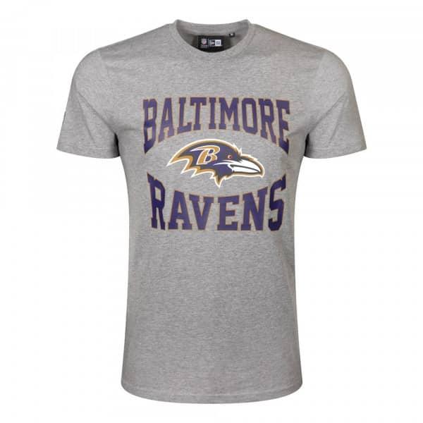 Baltimore Ravens Team Arch New Era NFL T-Shirt Grau