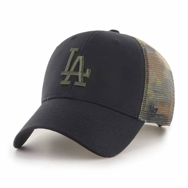 Los Angeles Dodgers Camo Back Switch '47 MVP MLB Trucker Cap