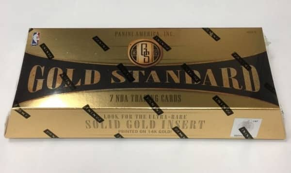2016/17 Panini Gold Standard Basketball Hobby Box NBA