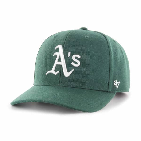new arrival 0aaf2 46cb1  47 Brand Oakland Athletics Cold Zone MVP DP Snapback MLB Cap Green    TAASS.com Fan Shop