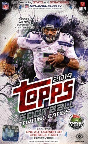 2014 Topps Football Hobby Box NFL