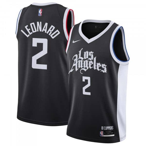 Kawhi Leonard #2 Los Angeles Clippers 2020/21 City Edition Nike Swingman NBA Trikot