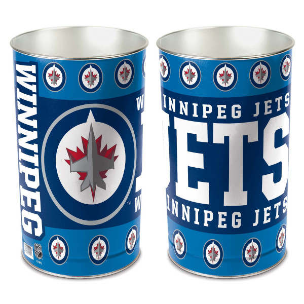 newest 5dbae 82c01 WinCraft Winnipeg Jets Hockey NHL Wastebasket   TAASS.com Fan Shop