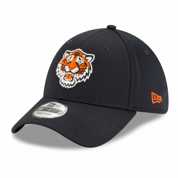 Detroit Tigers 2021 MLB Authentic Clubhouse New Era 39THIRTY Flex Cap