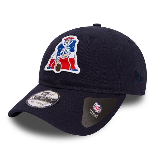 timeless design ee649 21d9b New Era New England Patriots Classic Patch Adjustable NFL Cap Navy    TAASS.com Fan Shop
