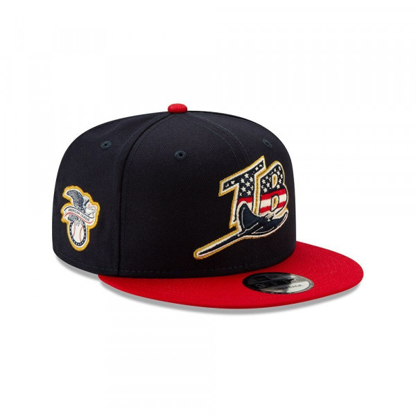 on sale 25b6f 2b7e5 New Era Tampa Bay Rays 4th of July 2019 MLB 9FIFTY Snapback Cap   TAASS.com  Fan Shop