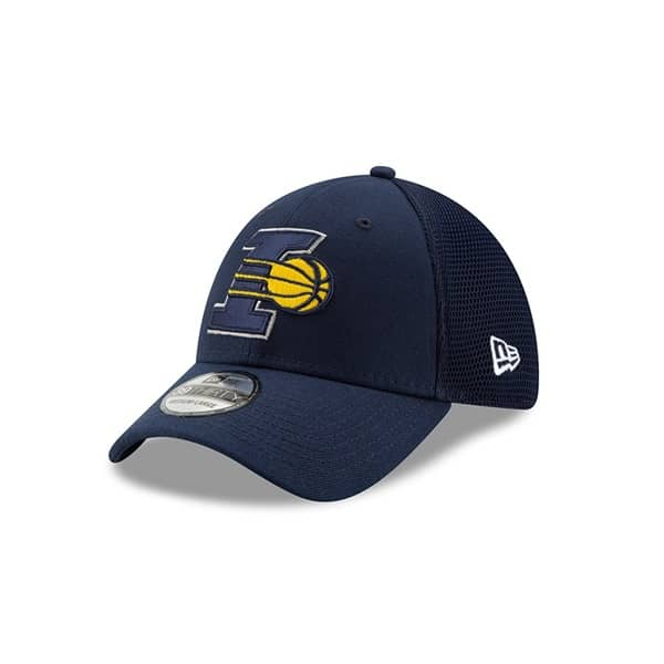 Indiana Pacers 2019 NBA Back Half 39THIRTY Stretch Fit Cap