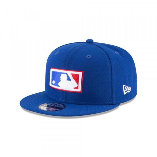 MLB Logo Cooperstown Snapback Cap Blau