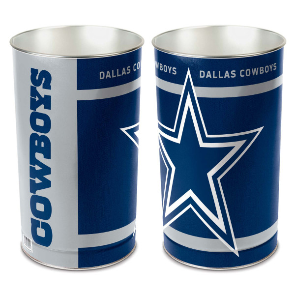 Dallas Cowboys Metall NFL Papierkorb