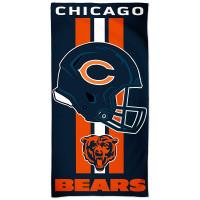 Chicago Bears Helmet NFL Strandtuch