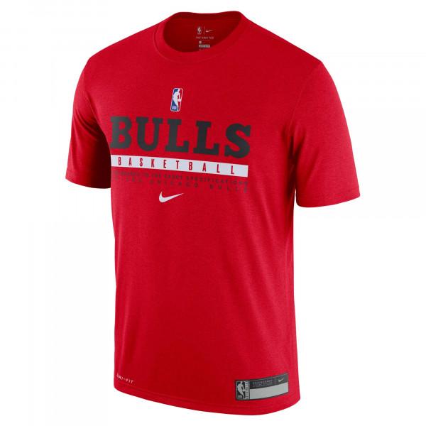 Chicago Bulls 2020/21 NBA Practice Nike Performance T-Shirt