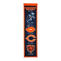 Chicago Bears NFL Premium Heritage Banner