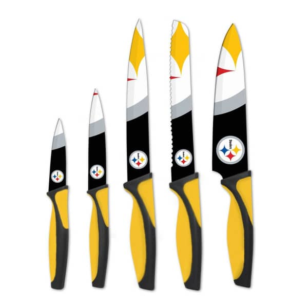 Pittsburgh Steelers NFL 5-teiliges Küchenmesser Set