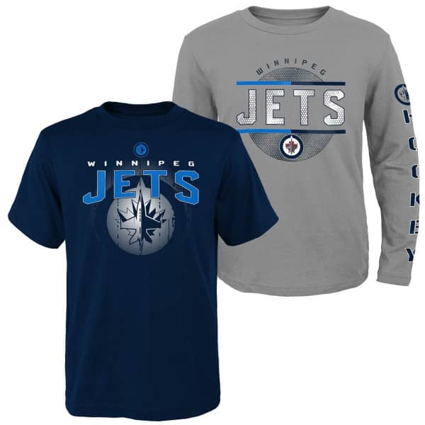 Winnipeg Jets Evolution 3-in-1 Combo Shirt Set (KINDER)