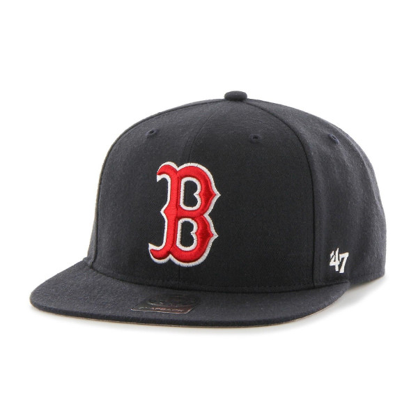 Boston Red Sox No Shot Captain Snapback MLB Cap