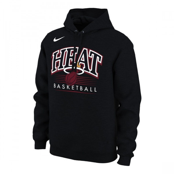 new products 4ef30 7812b Miami Heat Crest Logo NBA Hoodie