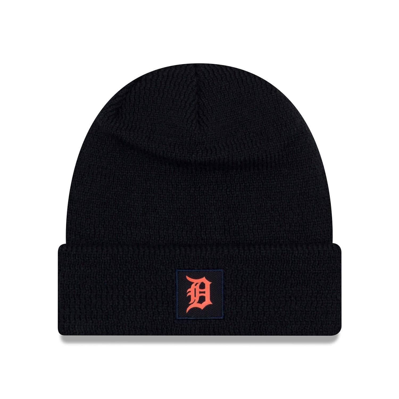 New Era Detroit Tigers 2018 On-Field Sport Knit MLB Knit Hat ROAD ... b2af7ff12