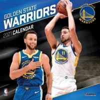 Golden State Warriors 2021 Team NBA Wandkalender