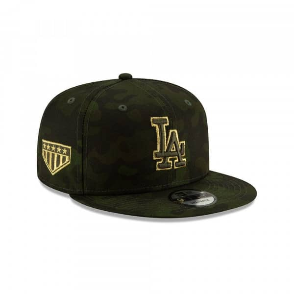 Los Angeles Dodgers 2019 Armed Forces Day 9FIFTY Snapback MLB Cap