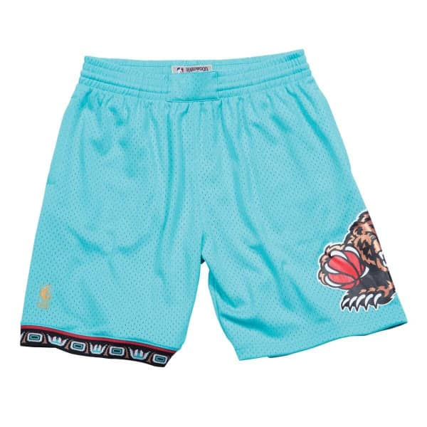 Vancouver Grizzlies 1996-97 Mitchell & Ness Swingman NBA Shorts