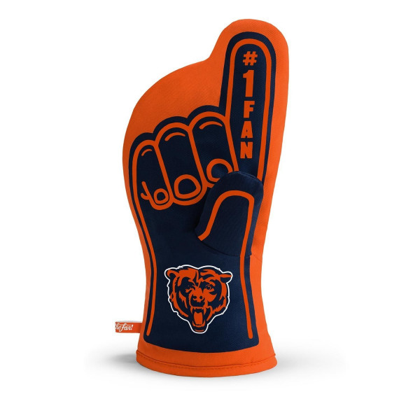 Chicago Bears #1 Fan NFL Ofenhandschuh