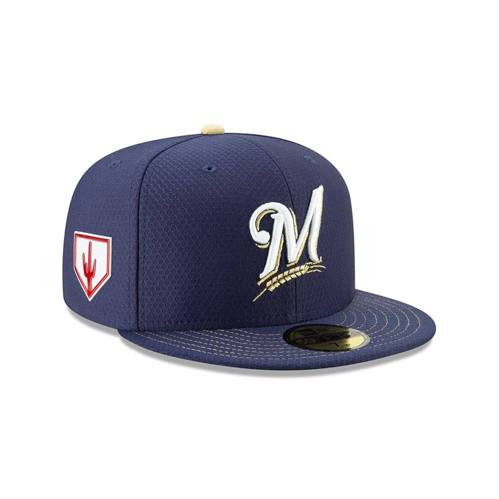 new era milwaukee brewers 2019 spring training 59fifty fitted mlb rh taass com