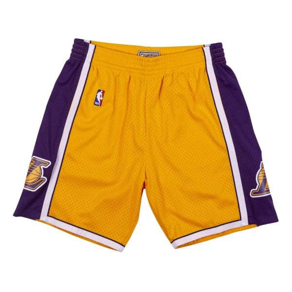Los Angeles Lakers 2009-10 Mitchell & Ness Swingman NBA Shorts Gelb