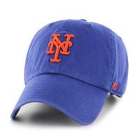 New York Mets Clean Up Adjustable MLB Cap Blau