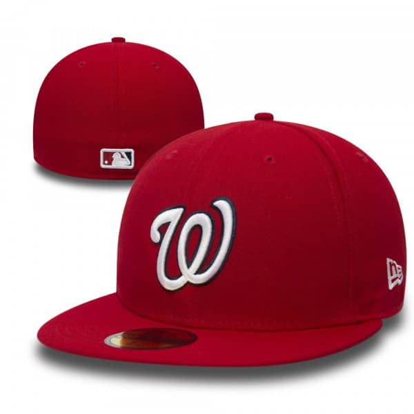 innovative design d8ea4 4ee02 New Era Washington Nationals 59FIFTY TSF Fitted MLB Cap Game   TAASS.com  Fan Shop