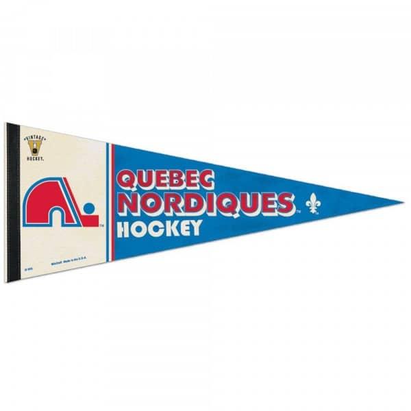 Quebec Nordiques Premium Vintage NHL Wimpel