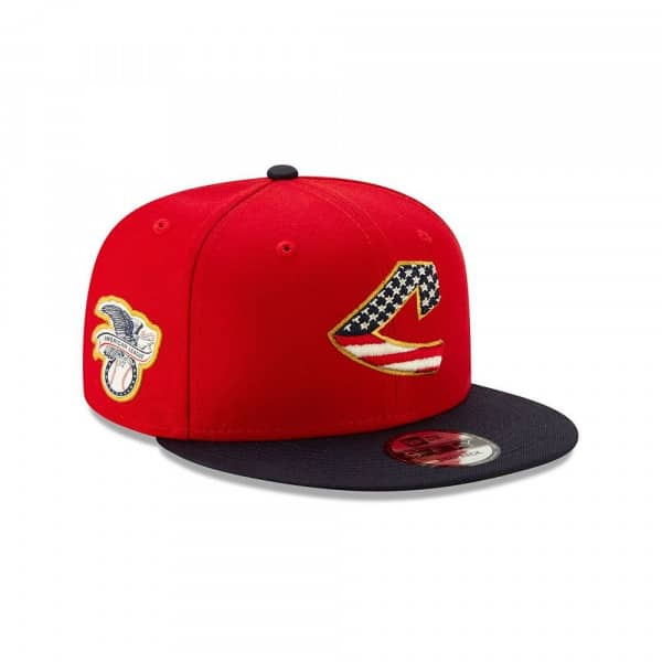 Cleveland Indians 4th of July 2019 MLB 9FIFTY Snapback Cap