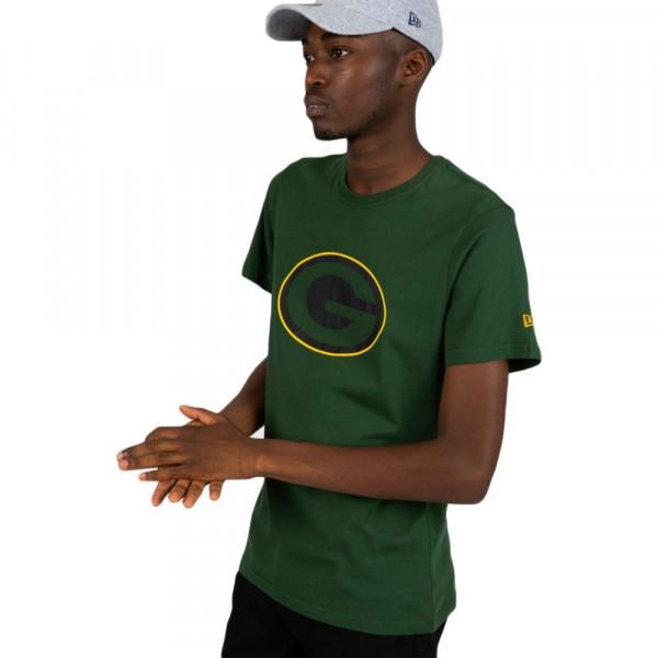 1951a1cf6 New Era Green Bay Packers Fan Pack Tonal Outline NFL T-Shirt