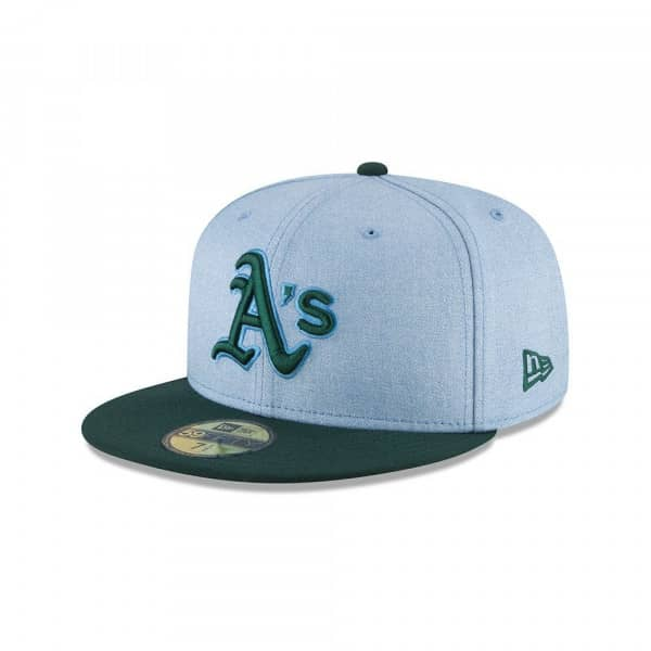 sale retailer 0506d abd83 New Era Oakland Athletics 2018 Father s Day 59FIFTY Fitted MLB Cap   TAASS.com  Fan Shop