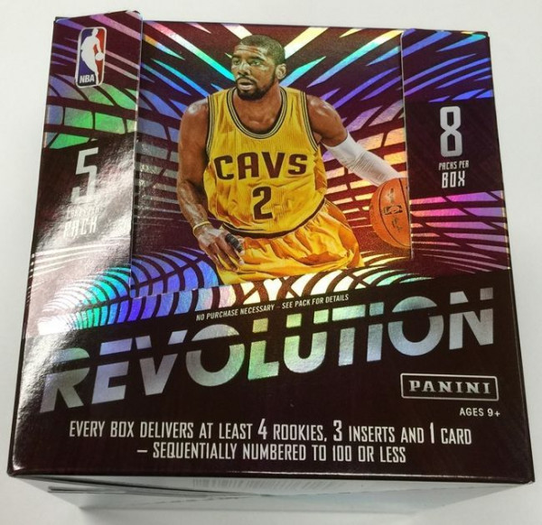 2015/16 Panini Revolution Basketball Hobby Box NBA