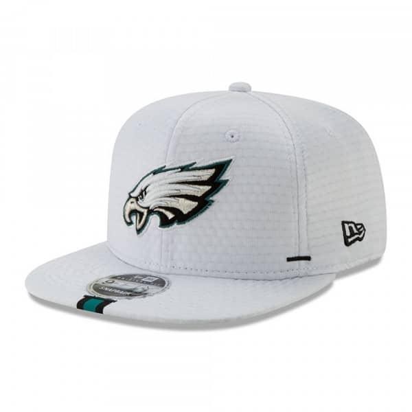 on sale a4ad0 b938f New Era Philadelphia Eagles 2019 NFL Training 9FIFTY Snapback Cap White    TAASS.com Fan Shop
