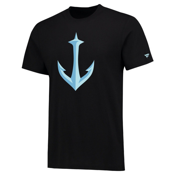 Seattle Kraken Alternate Logo Fanatics NHL T-Shirt Schwarz