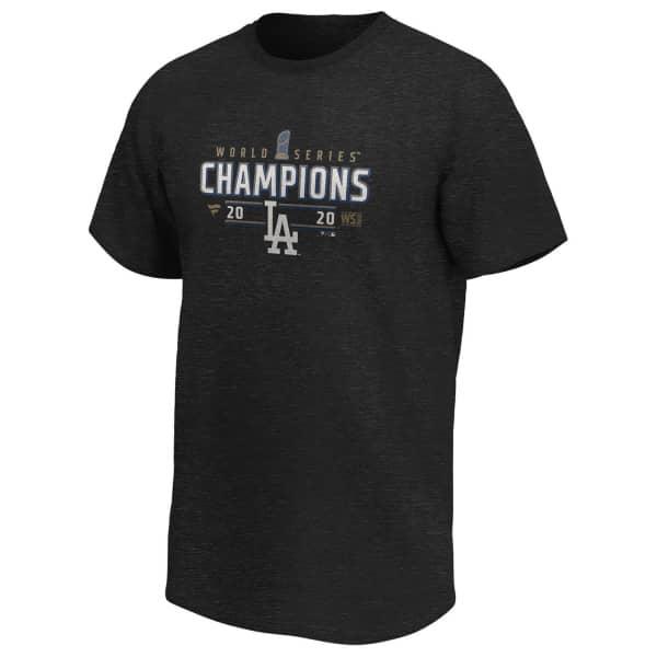 Los Angeles Dodgers 2020 World Series Champions Locker Room Fanatics MLB T-Shirt