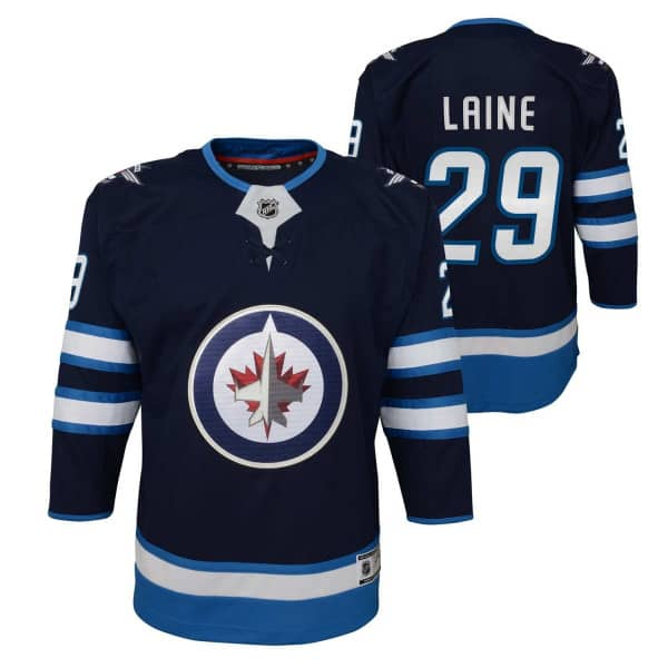 Patrik Laine #29 Winnipeg Jets Premier Youth NHL Trikot Home (KINDER)