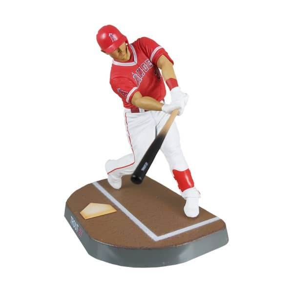 2020 Mike Trout Los Angeles Angels MLB Action Figur